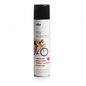 Wilko Lubricant Spray with Teflon Surface Protector 400ml