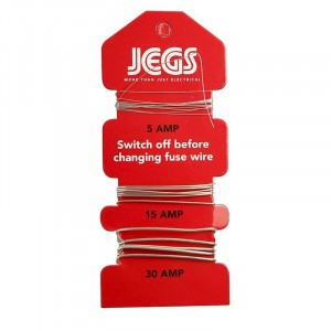 Jegs Card Assorted Fuse Wire
