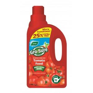 Westland Gro-Sure Tomato Food - 1 Litre + 25% Extra Free