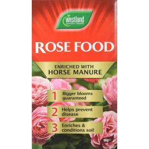 Westland Horse Manure and Plant Stimulant Enriched Rose Food 1kg
