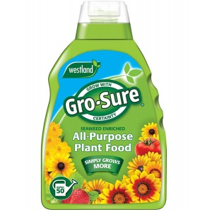 Westland Gro-Sure Seaweed Enriched All Purpose Plant Food 1L