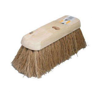 HBC Broom Head - Plain Stock, Filled Natural Coco