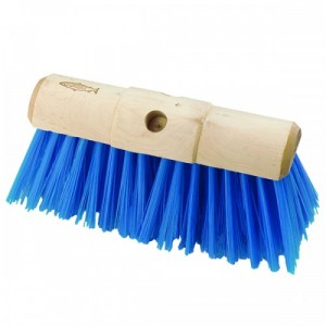 Hillbrush Blue Yard Brush P17B