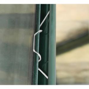Greenhouse 'W' Glazing Clips Pk 25