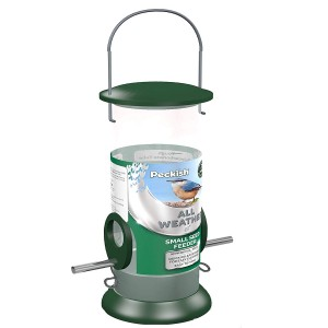 Peckish All Weather Metal Bird Seed Feeder - Small