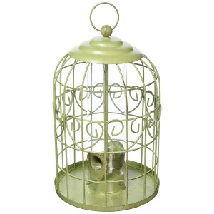 Peckish Decorative Squirrel Proof Bird Seed Feeder