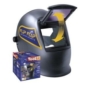 Toolit Flip-Flap Welding Helmet - Black