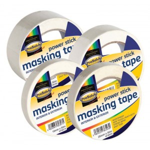 Prosolve Power Stick Masking Tape 50 Metres x 38mm