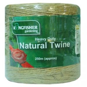 Kingfisher Heavy Duty Natural Garden Twine 250m