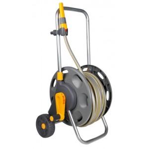Hozelock 60m Assembled Hose Cart with 50m hose