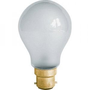 Dencon 110V GLS Standard Lamp, Frosted 60W BC