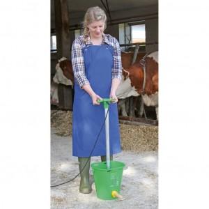Kerbl Milking & Washing Apron PU Blue
