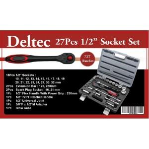 "Deltec 1/2"" Socket Set 27-Piece"