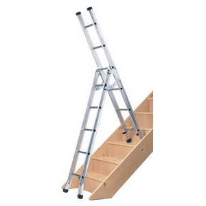 Abru 3 Way Light Duty Combination Ladder