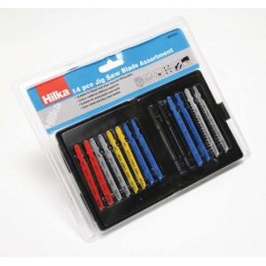 Hilka 14 pce Jigsaw Blade Assortment Pro Craft
