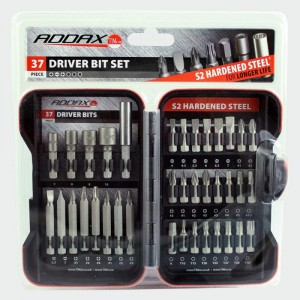 Addax S2 Driver Bit Set - Set of 37 Pieces