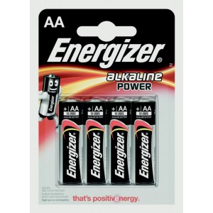 Eveready Energizer Alkaline Power AA E91
