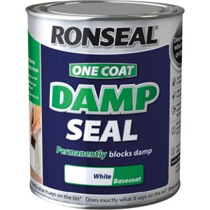 Ronseal One Coat Damp Seal White