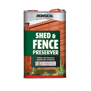 Ronseal Shed & Fence Preserver (New Formulation) 5L Green