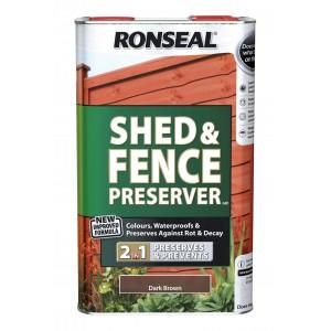 Ronseal Shed & Fence Preserver 5L