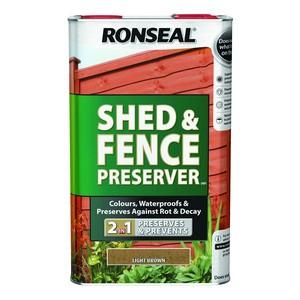 Ronseal RONSEAL SHED & FENCE PRESERVER (New Formulation)