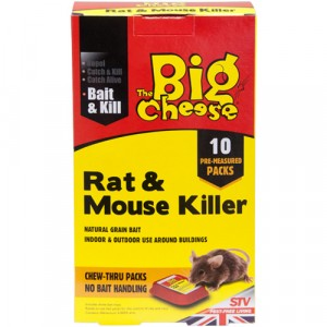 The Big Cheese Rat & Mouse Killer Pack of 10