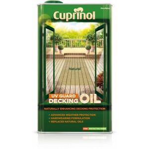 Cuprinol UV Guard Decking Oil 5L