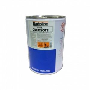 Bartoline Creosote Dark Brown 20 Litres