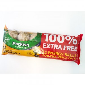 Peckish Fat Energy Ball 6 + 6 Free