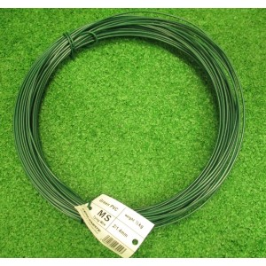 PVC Coated Tying Wire - Green - 1/2kg 1.4mm