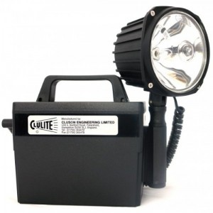 Clulite Deluxe Rechargeable Torch - 1 Million C/P + Jackplug