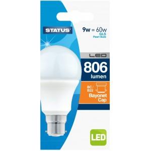 Status LED Bulb 9W B22