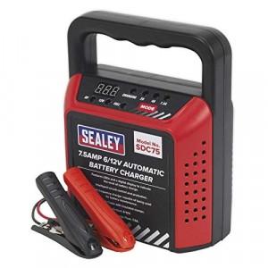 Sealey SDC75 Battery Charger 6/12V 7.5Amp 230V Automatic