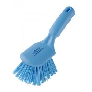Hillbrush 254mm Short Handled Churn Brush Blue