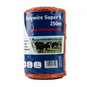 Fenceman Polywire Super 9 250 Metres