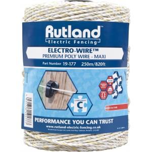 Rutland Poly Wire Maxi 250m 19-177