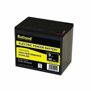 Rutland 9V 90Ah Alkaline Battery Large