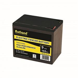 Rutland Electric Fencer Battery 9V 165Ah