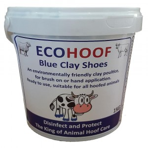 Ecohoof Blue Clay Shoes 1kg