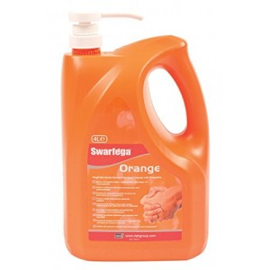 Swarfega Orange Hand Cleaner with Pump 4 Litre