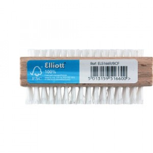 Elliott Nail Brush Wood FSC Double Sided