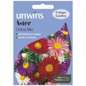 Unwins Aster China Mix