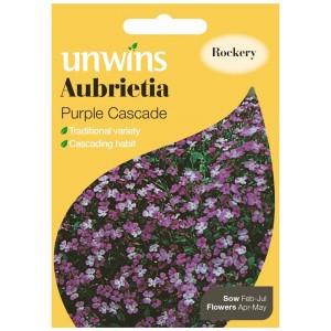 Unwins Aubrietia Purple Cascade