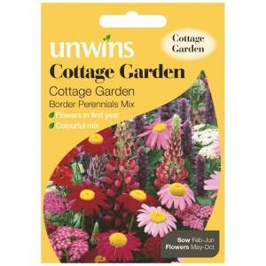 Unwins Cottage Garden Border Perennials Mix
