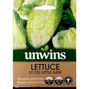 Unwins Lettuce (Cos) Little Gem