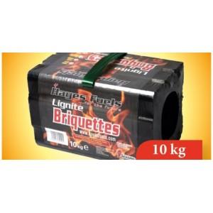 Hayes Lignite Briquette 10kg