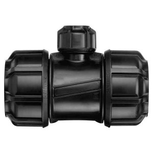 Philmac 25mm x 20mm Unequal Reducing Tee Poly