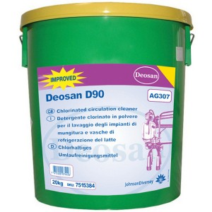 Deosan D90 Alkaline Detergent Disinfectant 20kg
