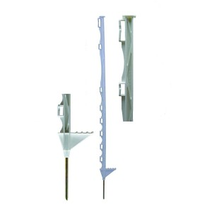 Hotline White Electric Fence Posts Pk.10