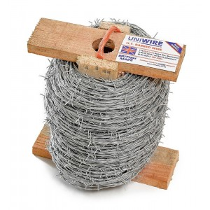 Barbed Wire Galvanised 200 Metre Roll